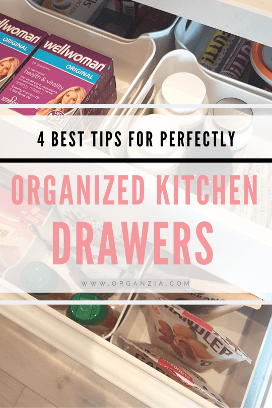 4 best tips for perfectly organized kitchen drawers