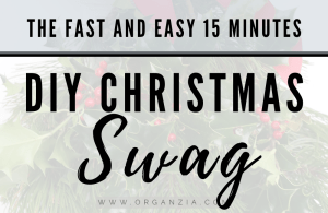 How to make a DIY Christmas Swag
