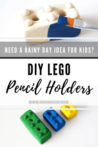 How to make Lego Pencil Holders