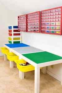 Organize Lego - make a DIY Lego table