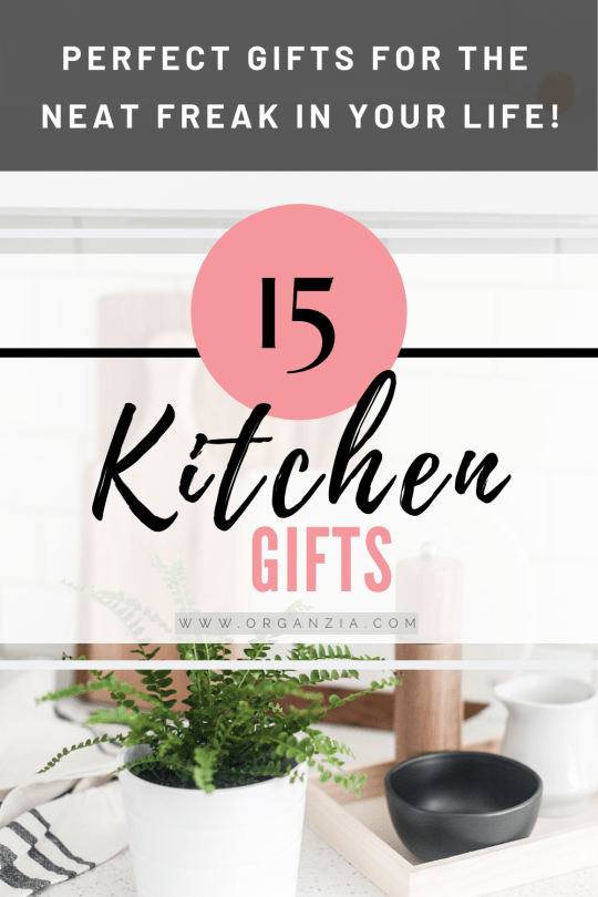 Kitchen gift ideas for the neat freak
