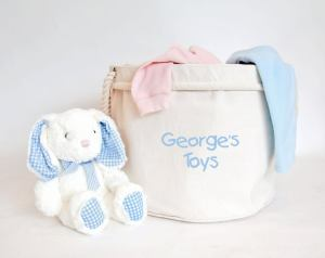 Personalized Toy Basket for nursery
