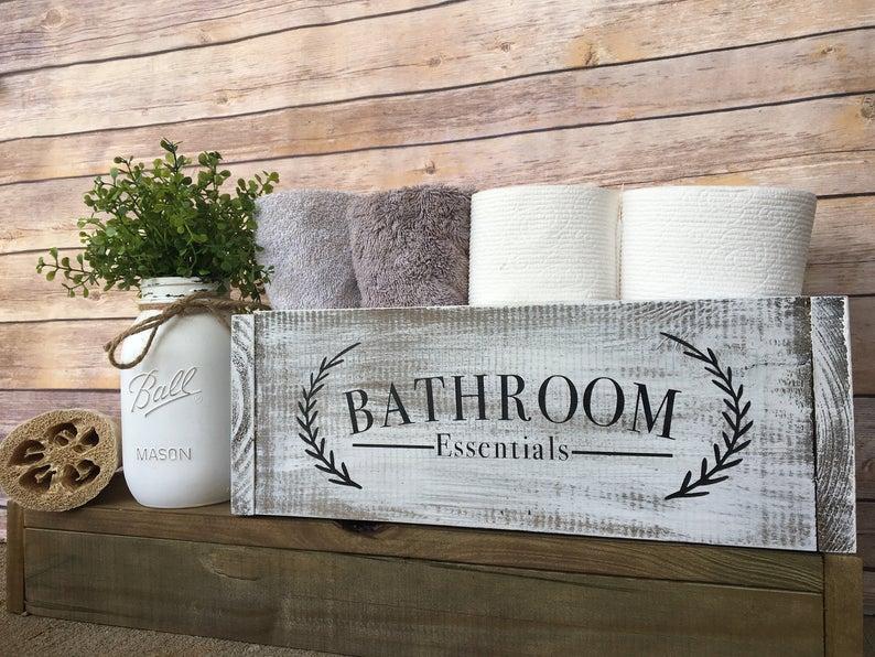 Bathroom storage box