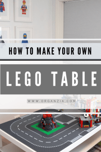 Easy DIY Lego Table tutorial