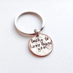 Round keychain - Valentine gifts idea