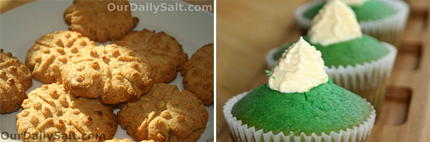 Peanut Butter Cookies and Lemongrass Cupcakes by Chef Felisha