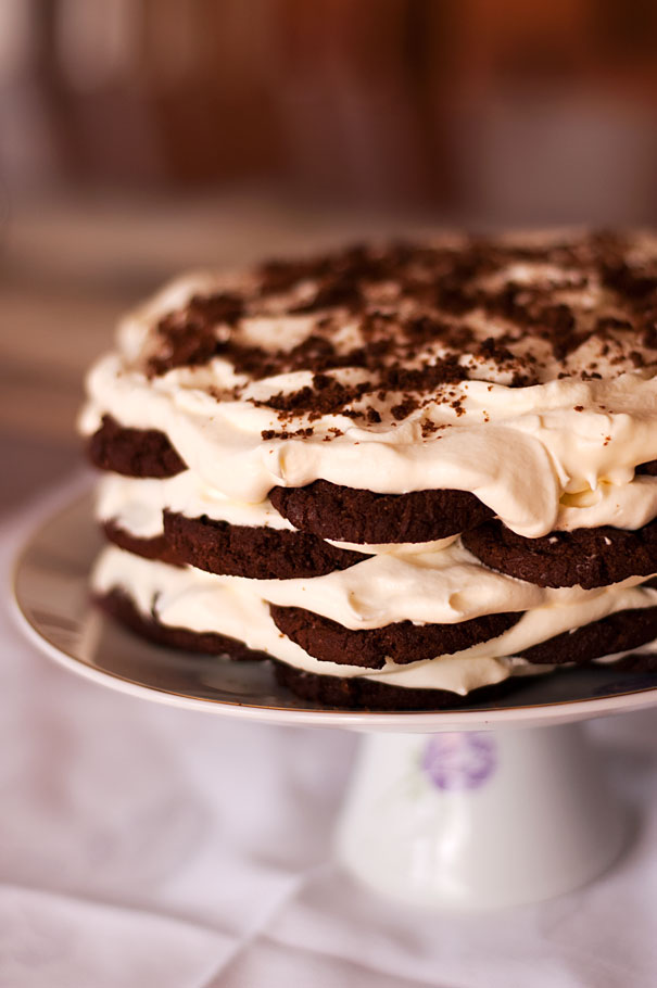 Chocolate Ripple Cake