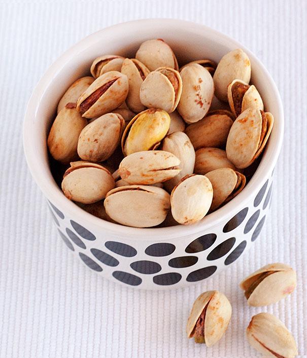 sweet chili pistachios