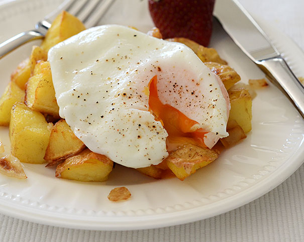 eggs and potatoes