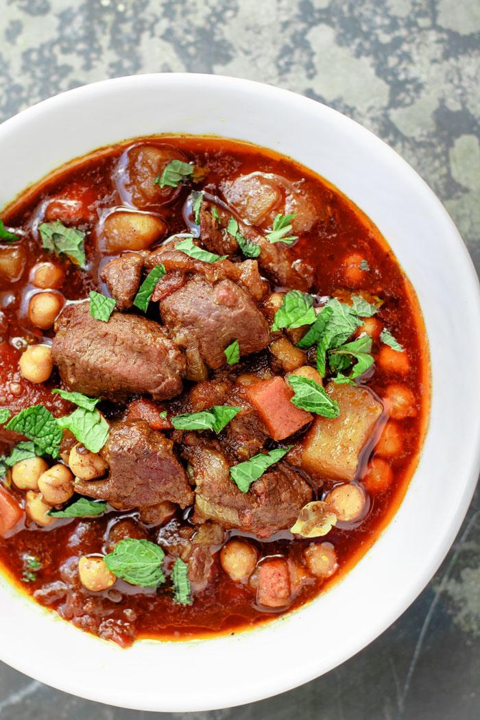 Moroccan Lamb Stew