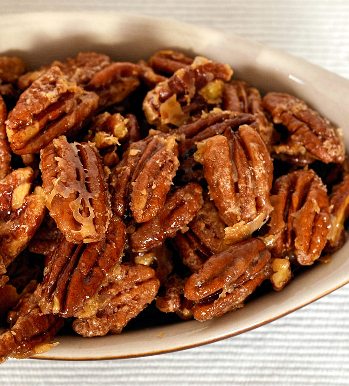 Candied Maple Pecans