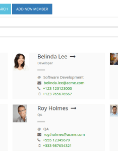 Employee directory online org chart also orgchart  the free and tool rh
