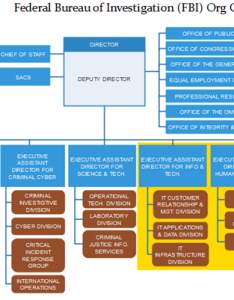 Fbi org chart example also uncover the mysterious word of investigation rh orgcharting