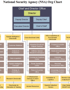Nsa org chart also detailed structure of the national security agency rh orgcharting