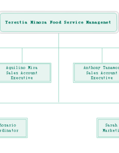 Organizational chart for foodservice department also example food service free download org rh orgcharting