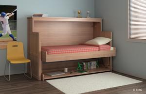 ORG Home Desk Bed Uninterrupted Transition From Desk To Bed