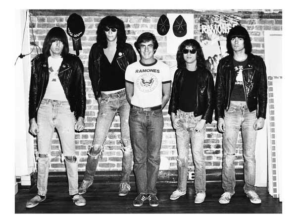 "Danny and ""My Ramones"" 1976"