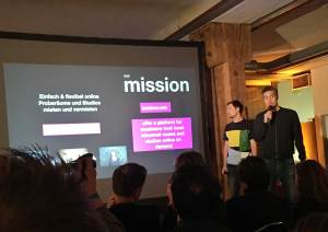 Bandnova.com beim Music Worx Pitch 2018