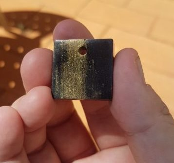 First Generation Pendant #7 OrgoneIt Orgonite Pyramid
