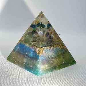 Always Positive Orgone Orgonite Pyramid 5cm