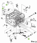 Ремонт заправка картриджа принтера KYOCERA ECOSYS FS P2035