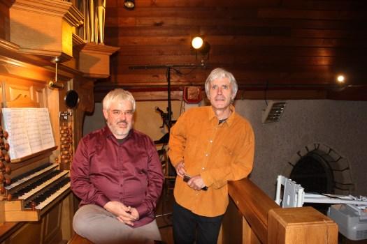 Jean Sabot (harmonica) et Laurent Le Bot (orgue)