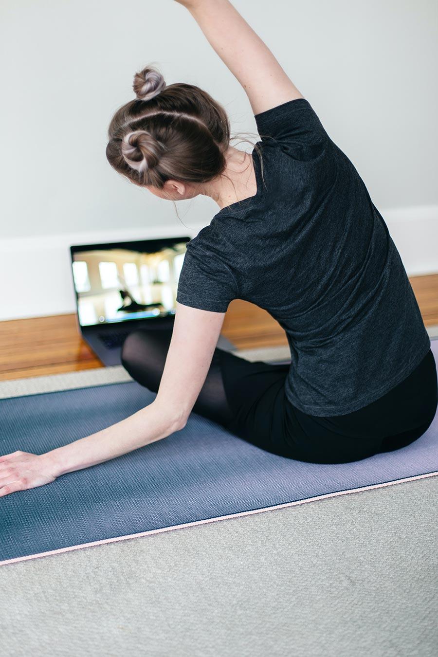 Exercício em Casa - Tutoriais online