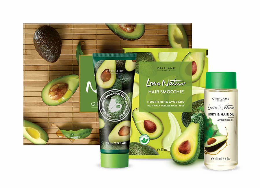 Coffret Love Nature Abacate