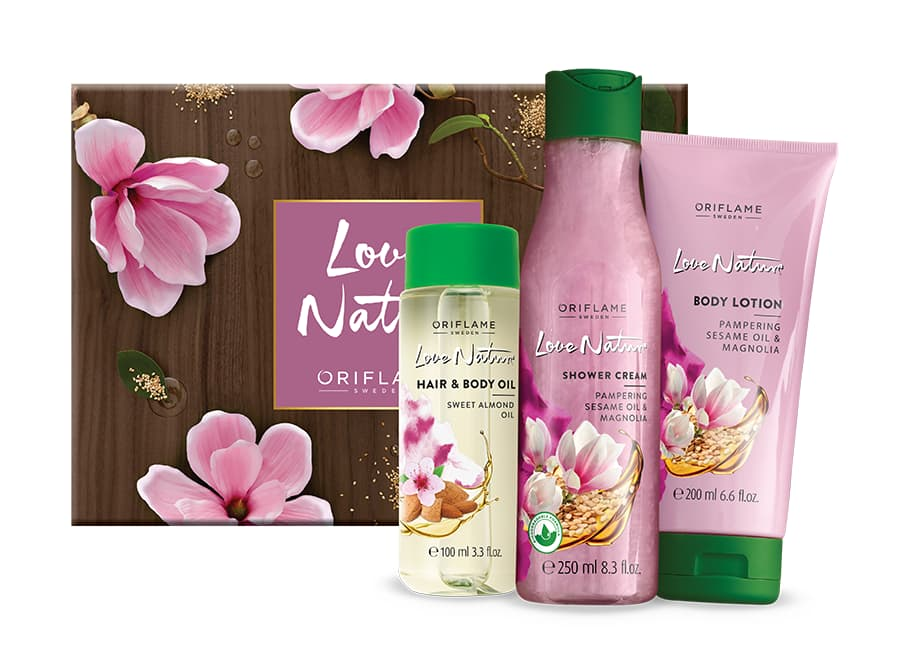 Coffret Love Nature Magnólia