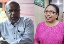 Yan C Warinussy, SH dan Anike Sabami, S.Sos