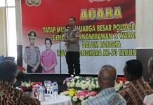 Polda Papua Barat Gelar Acara Bersama Purnawirawan dan Warakawuri