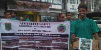 2 Hari Lakukan Aksi Kemanusiaan Untuk Korban Gempa Maluku, IMSBT Kumpulkan Rp.38 Juta