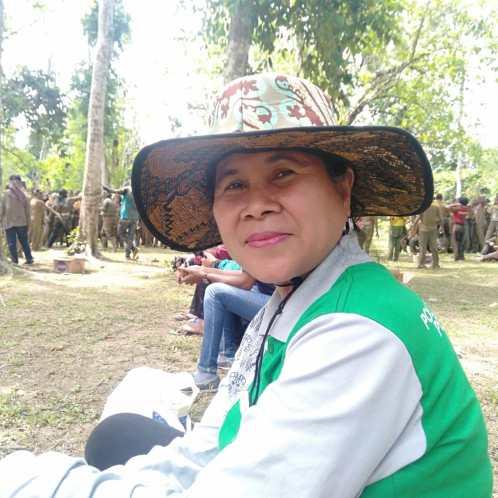 Wakil direktur III Politeknik Pembangunan Pertanian (Polbangtan) Manokwari, Ir. Caroline Diana Mual, MP