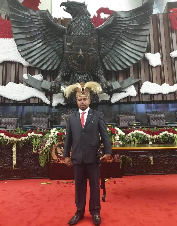 Senator asal Papua Barat, Dr. Filep Wamafma SH., M.Hum,. C.L.A