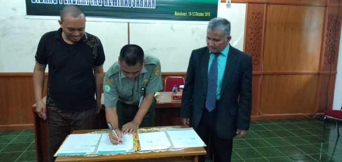 CV Mitra Telematika dan Polbangtan Manokwari MoU Terkait Siakad Integrasi