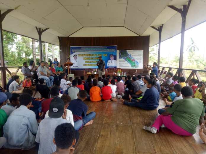 Dinas P3AKB Gelar Pembinaan Anak Pengguna Lem Aibon di Pendopo Kampus Tefa Polbangtan Manokwari