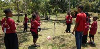 Dinas P3AKB Gelar Outbound Bagi Anak Pengguna Aibon di Camping Ground Tefa Polbangtan Manokwari