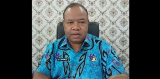 Kepala Dinas Kehutanan Provinsi Papua Barat, F.H Runaweri, S.Hut