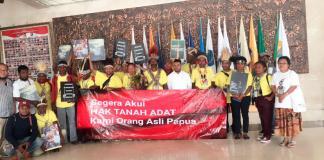Puluhan Masyarakat Adat di Tanah Papua Temui Ketua Pansus Papua DPD RI