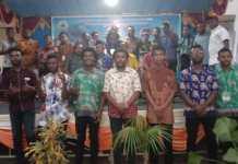 Pelantikan Badan Pengurus Mahasiswa Teluk Bintuni, Mahasiswa Minta Perhatian Pemda
