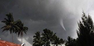 Kampung Imbuan Tambrauw Diterpa Angin Puting Beliung, 6 Rumah Rusak. Foto:IST