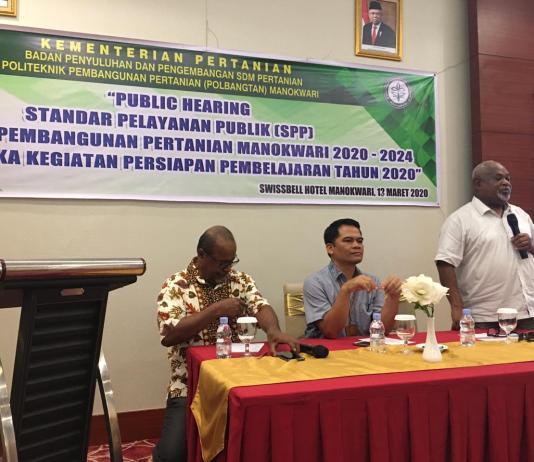 Kepala Perwakilan Ombudsman Provinsi Papua Barat, Musa Sombuk. Foto: Orideknews.com