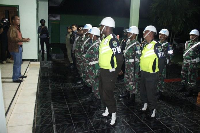 Cegah COVID-19, TNI, Polri dan Satpol PP Manokwari Pastikan THM Ditutup