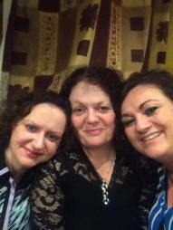 Máire Ní Choilm, Geraldine Bradley & Diane Cannon 2016