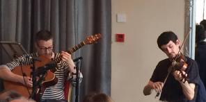 Seán McElwain & D¢nal McCague 'Slieve Beagh Music Mss' performance 2016