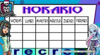 Nuevos horarios. Ideales para el inicio de curso NUEVOS HORARIOS NUEVAS DISTRIBUCIONES MARCOS
