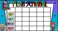 Nuevos planificadores divertidos para nuestros niños con diversos motivos y otros un poquito más formales para los profes. Plan Semanal para los alumnos en color formatos editables con el programa […]