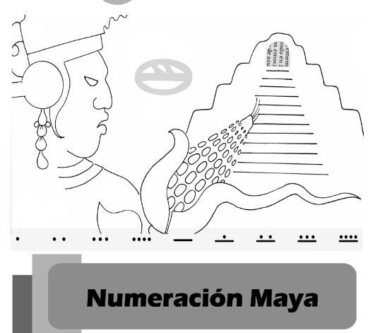 Matemáticas Primaria y ESO. Numeración maya y su calendario ...