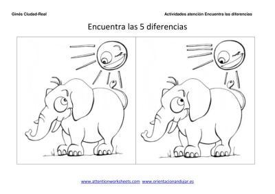 encuentra las diferencias