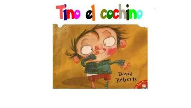 imagenes LA canción y del cuento de TINO EL COCHINO o dirty bertie portada